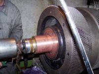 齿轮轴镀铜